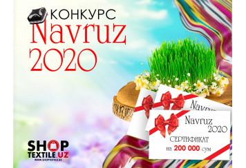 """""""NAVRUZ 2020"""" bahoriy tanlovini e'lon qilamiz!"""
