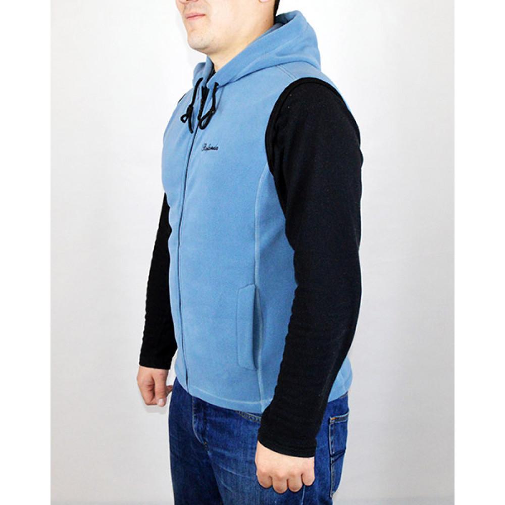Vest with hood