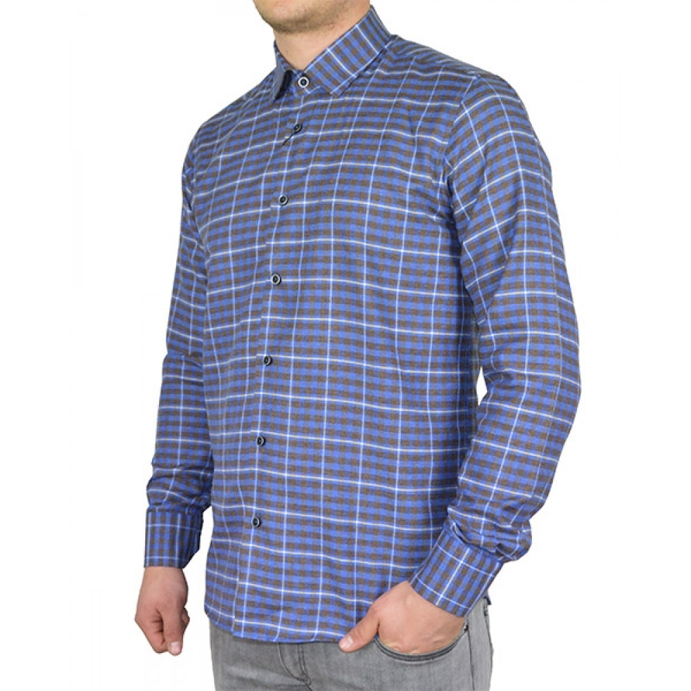 Shirt with squares
