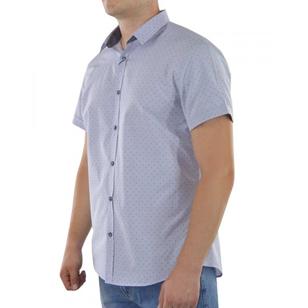 Short-sleeved shirt (Slimfit)